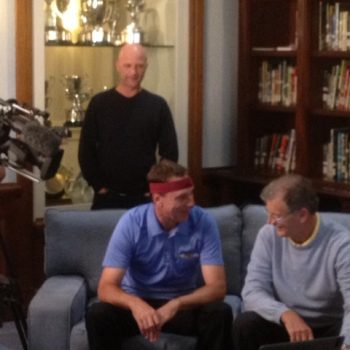 The Golf Show with Host Brett Ogle Brain Wave Pattern Testing