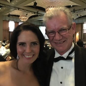 "Lauren Burns , Olympic Gold Medallist, Tae Kwon Do , 2000, Sport Australia Hall of Fame Inductee, 2017. ""Noel: Thank you so much for your support, guidance and wisdom.  Lauren"""